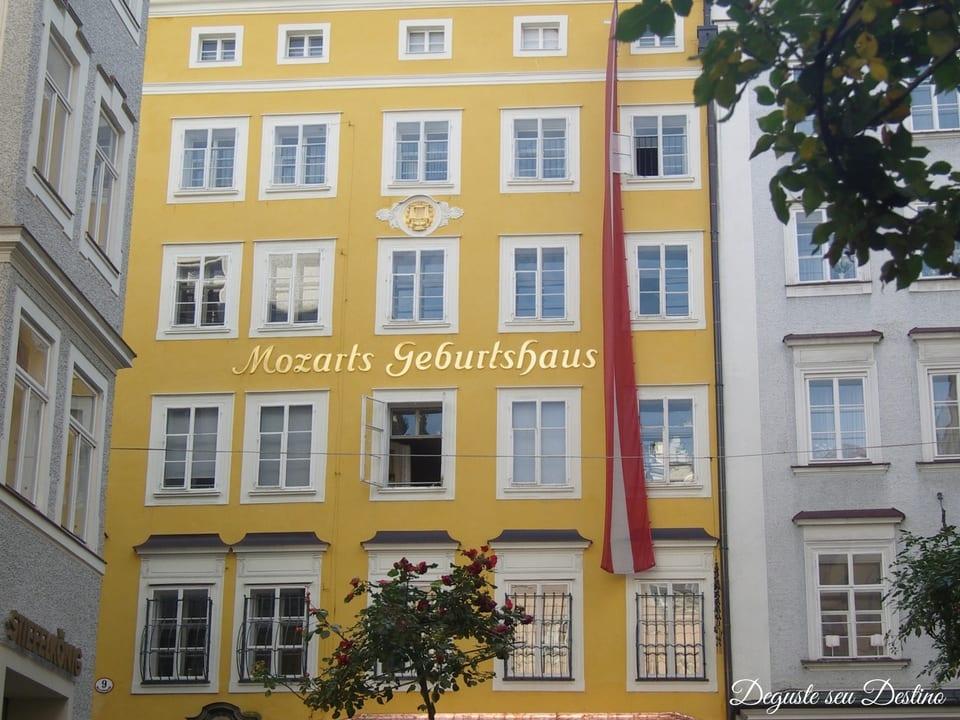 Museu Mozart Geburtshaus.