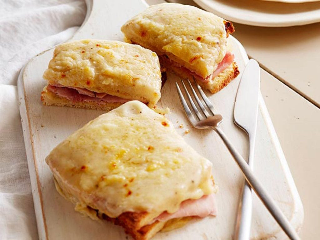 Croque-monsieur. Fonte: Foodnetwork.