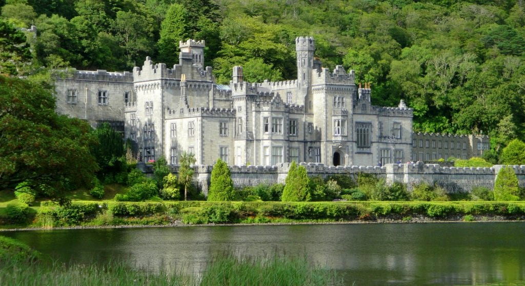 Castelo Kylemore Abbey, fonte: Thousandwonders