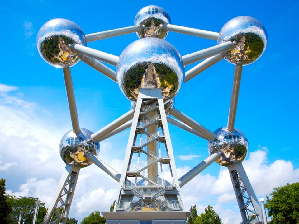 Atomium. Fonte: Postaisdeviagem.