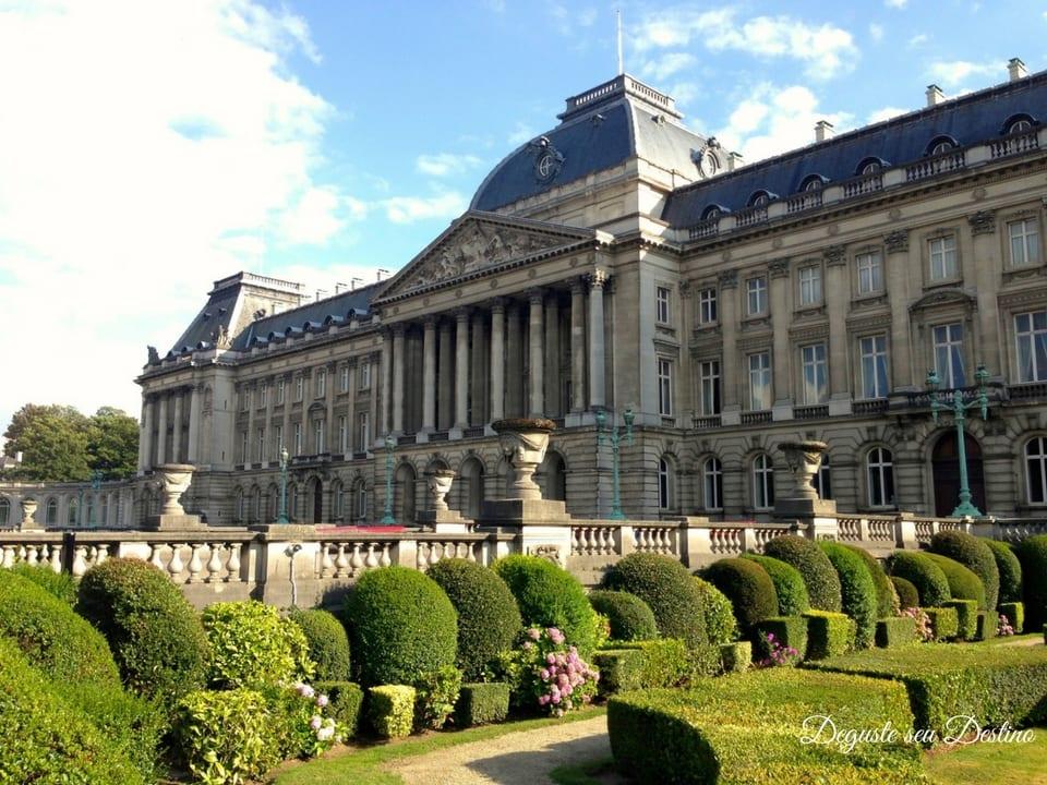 Palácio Real de Bruxelas.