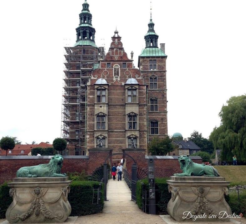 O castelo de Rosenborg.