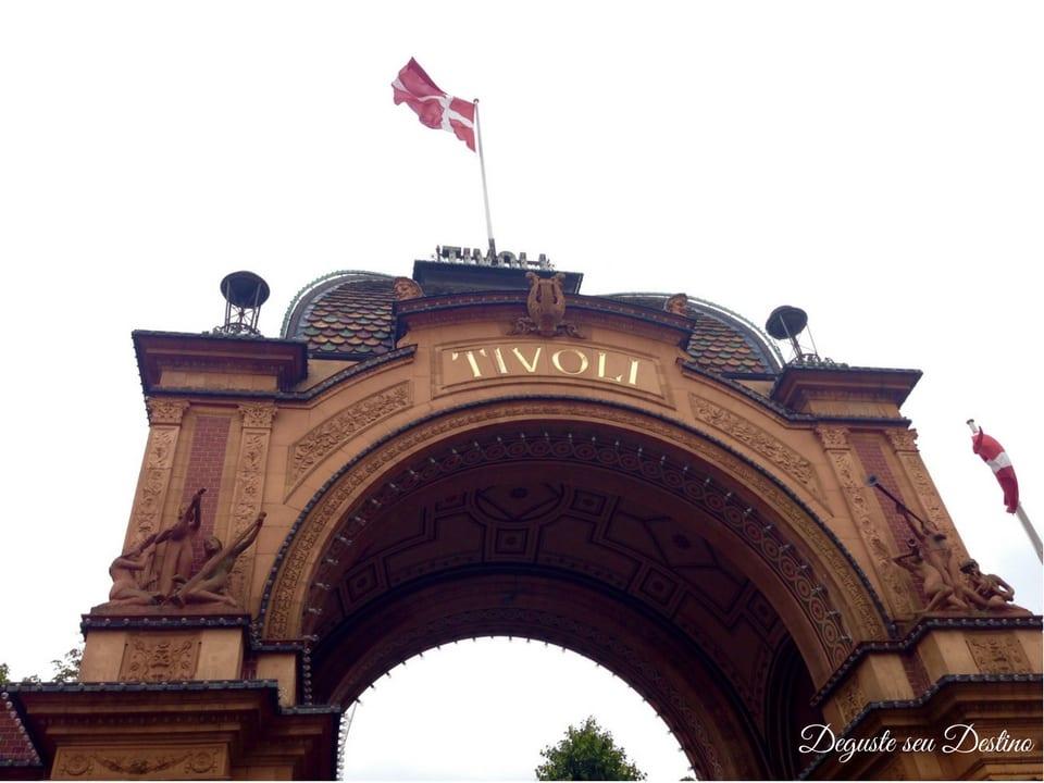 Entrada do Parque Tivoli.