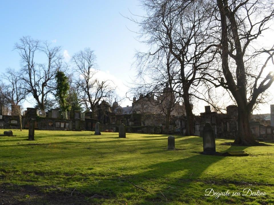 Cemitério Greyfriars.