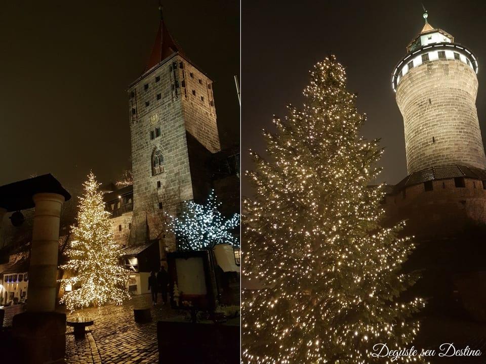 O clima medieval da cidade de Nuremberg combina bem com as feiras natalinas, pois elas se originaram e tentam ainda hoje remeter àquele tempo.