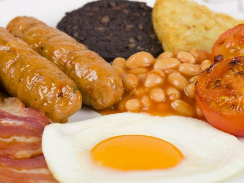 Café da manhã típico escocês. Fonte: Reference.